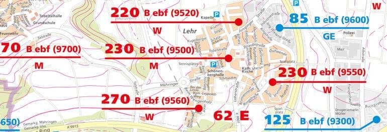 Flughafen D303274sseldorf Karte.Ulm Karte